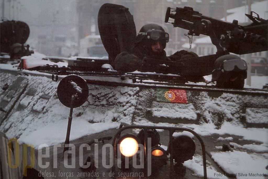 Em pleno inverno balcânico quase 1.000 portugueses materializam no terreno uma nova época na nossa história militar