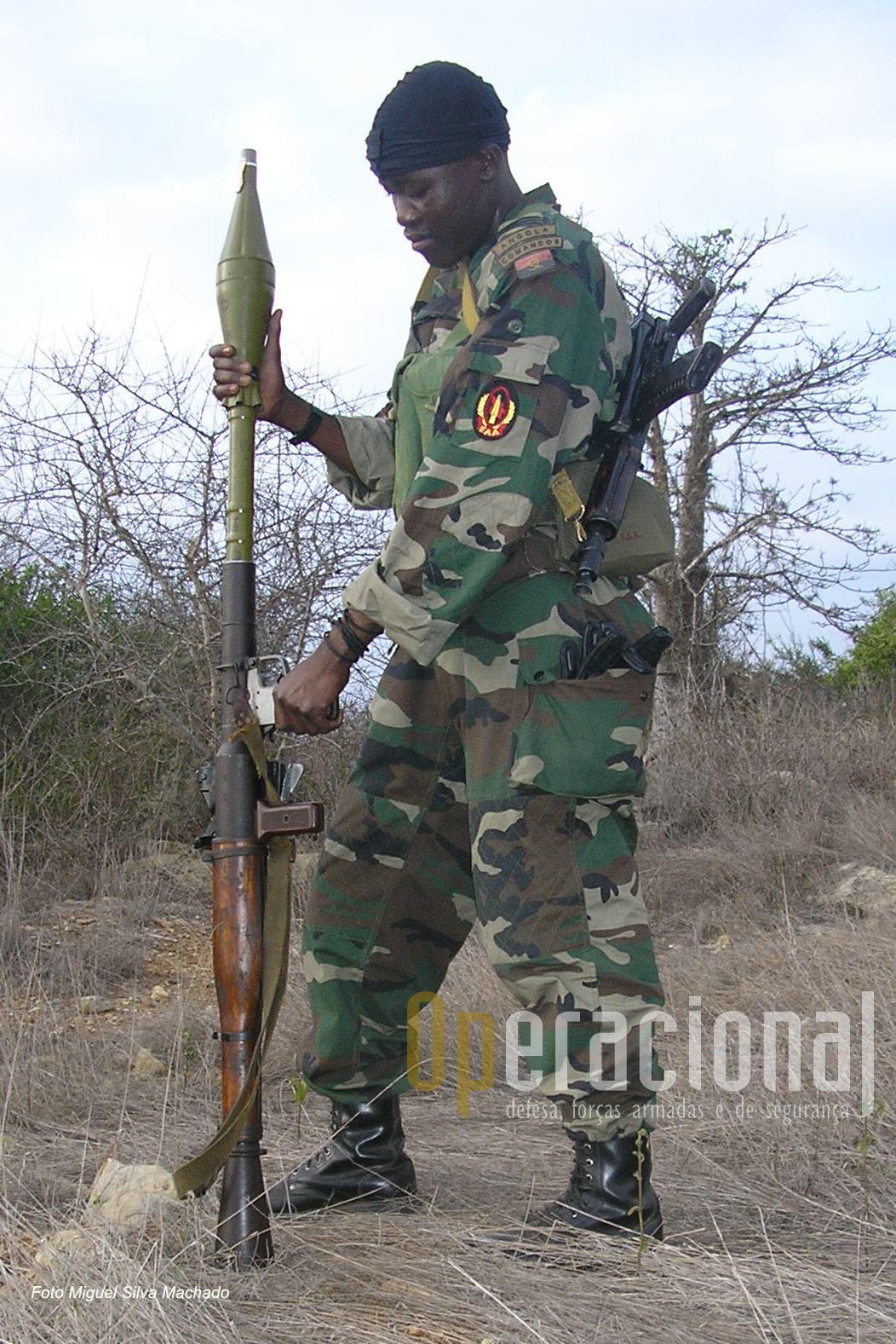 O velho e robusto RPG 7 é uma arma temível e continua a ser usado um pouco por todo o mundo