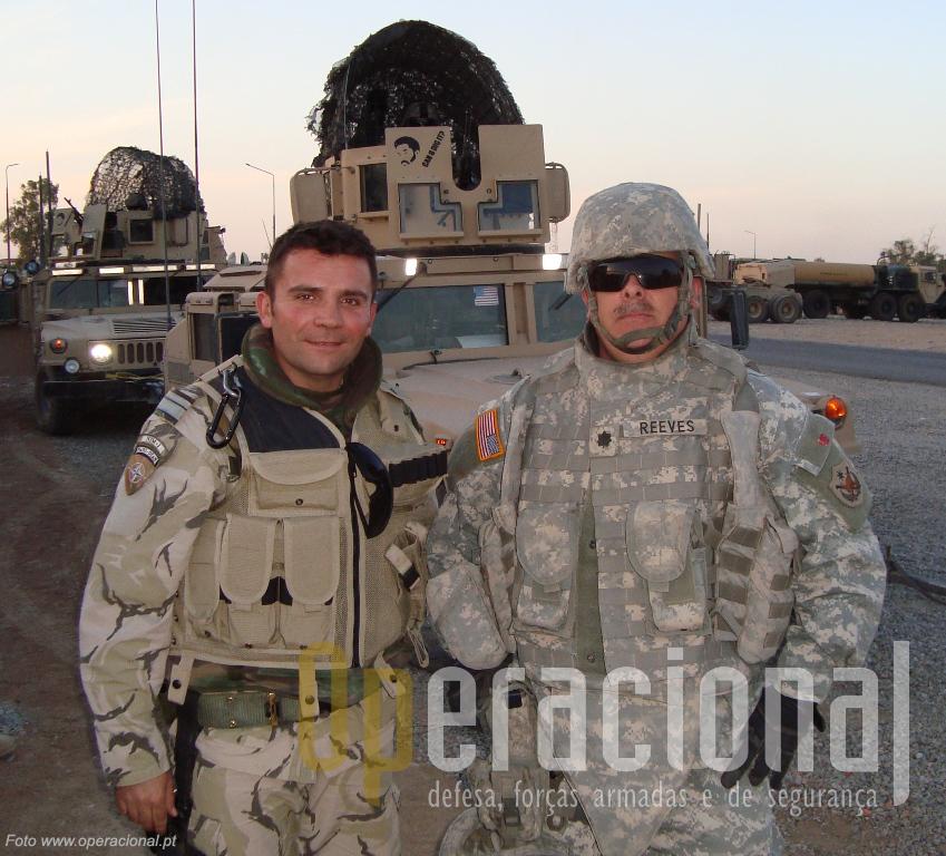 Kirkuk, norte do Iraque, Dezembro de 2008. A última missão portuguesa fora de Bagdad terminou com sucesso.