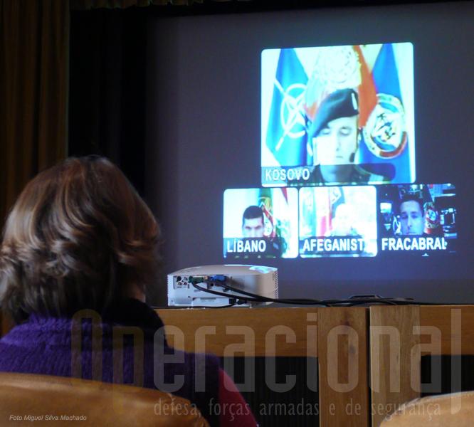 O sistema de video conferência, embora com limitações, permitiu aos comandantes das FND darem a sua avaliação da situação nos teatros de operações exteriores