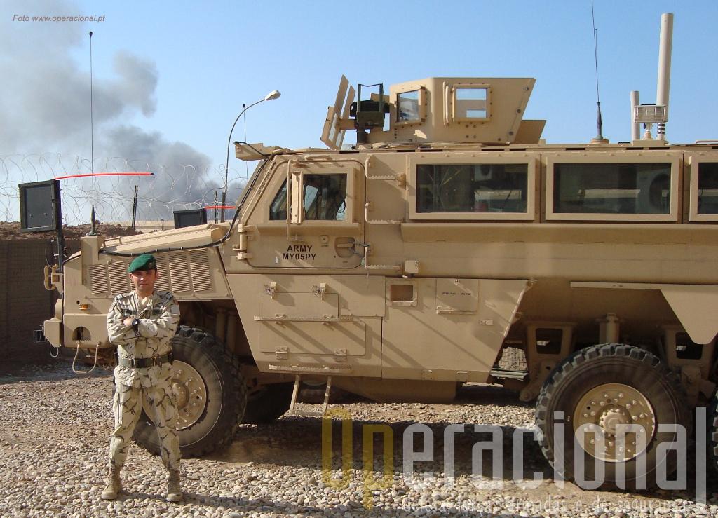 Os MRAP - Mine Resistant Ambush Protected - são uma das respostas às necessidades de protecção das tropas no Iraque e Afeganistão