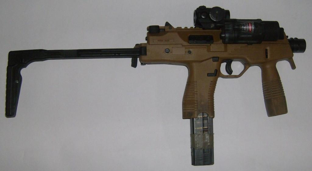 A TP9/MP9 testada no Afeganistão por Paulo Venâncio