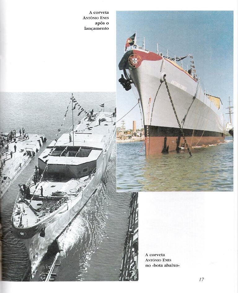 A obra inclui um caderno com fotos de alguns dos navios das duas classes