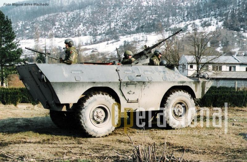 V-200 em Vitkovice (Gorazde) na Bósnia-Herzegovina em 1996.