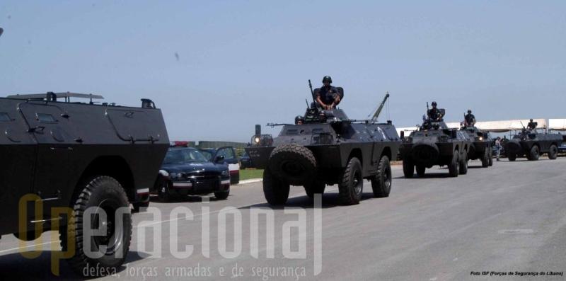 As Forças de Segurança Interna do Líbano continuam a operar as Chaimites e estão em processo de as remotorizar com apoio dos EUA.
