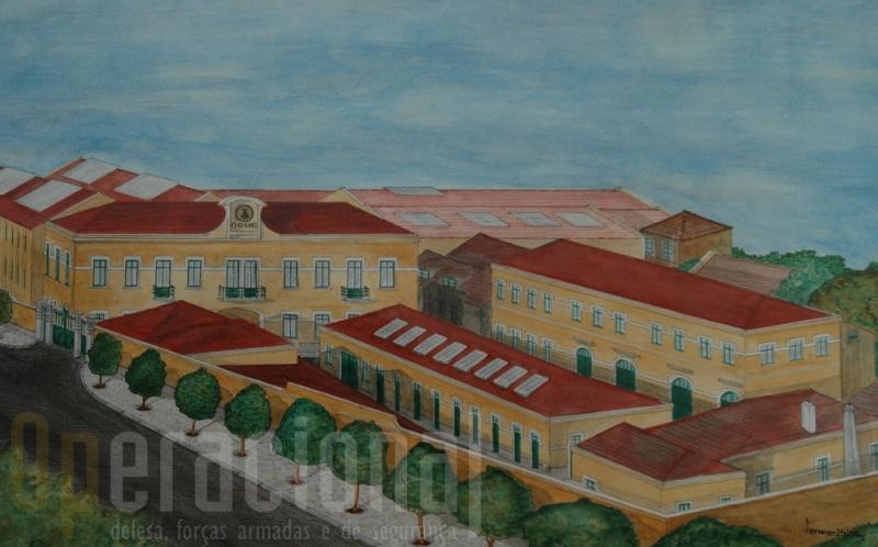 """As OGME em Belém albergaram o ultra-secreto """"pavilhão Chaimite"""" onde o primeiro protótipo foi construído"""