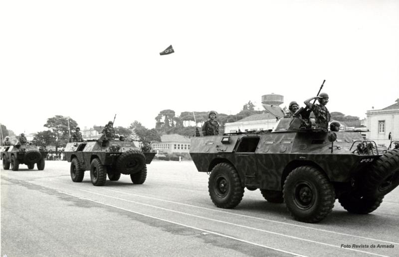 No pós-25 de Abril, em 1976, o Corpo de Fuzileiros recebeu 4 Chaimites