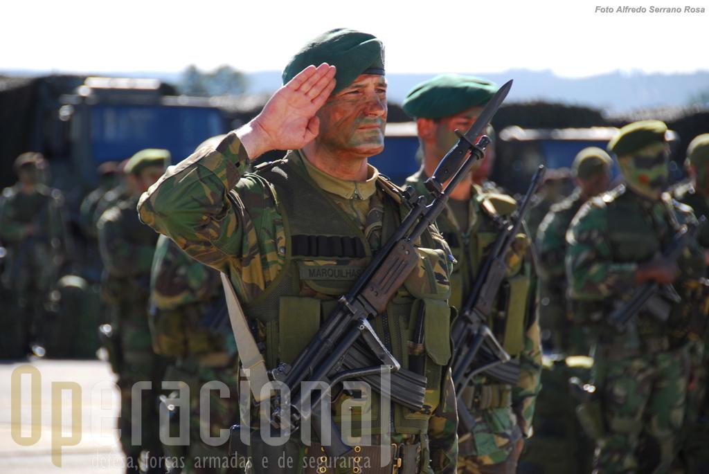 A Brigada de Reacção Rápida do Exército Português tem participado em exercicios do ARCC