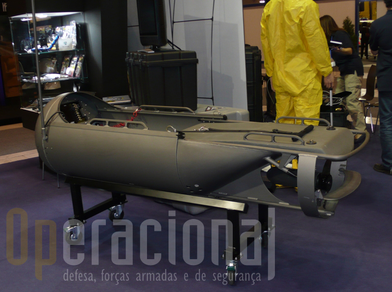 Um Diver Propulsion Device apresentado na feira
