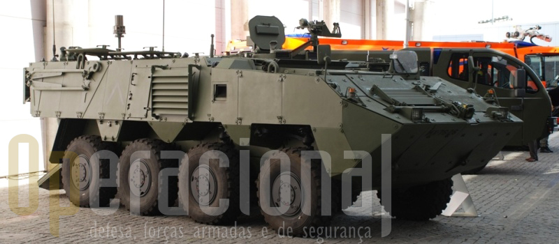 A PANDUR II 8X8 do Exército