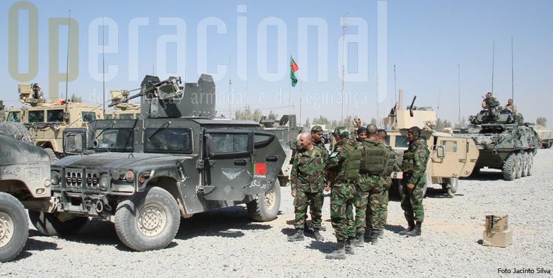 """No Afeganistão os """"Hummer"""" portugueses só estiveram prontos para ser empregues um ano depois do inicio da missão"""
