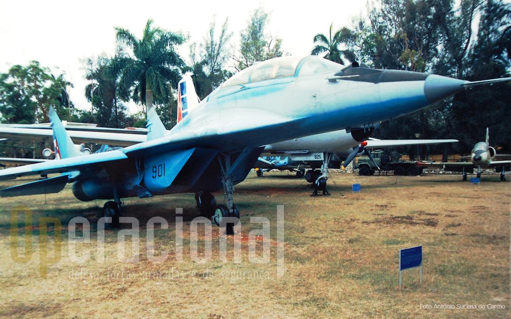 """Este Mig-29 UB """"Fulcrum"""" é a aeronave de maior capacidade de combate exposta ao público."""