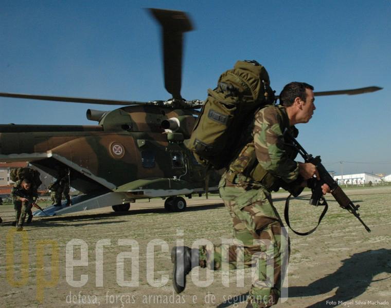 Muitos meios dos três ramos das Forças Armadas podem ser empregues quer na paz quer na guerra, em Portugal ou no estrangeiro.