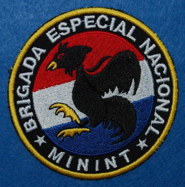 Distintivo de identificação oficial da BRIGADA ESPECIAL NACIONAL. (Col. A. Carmo)