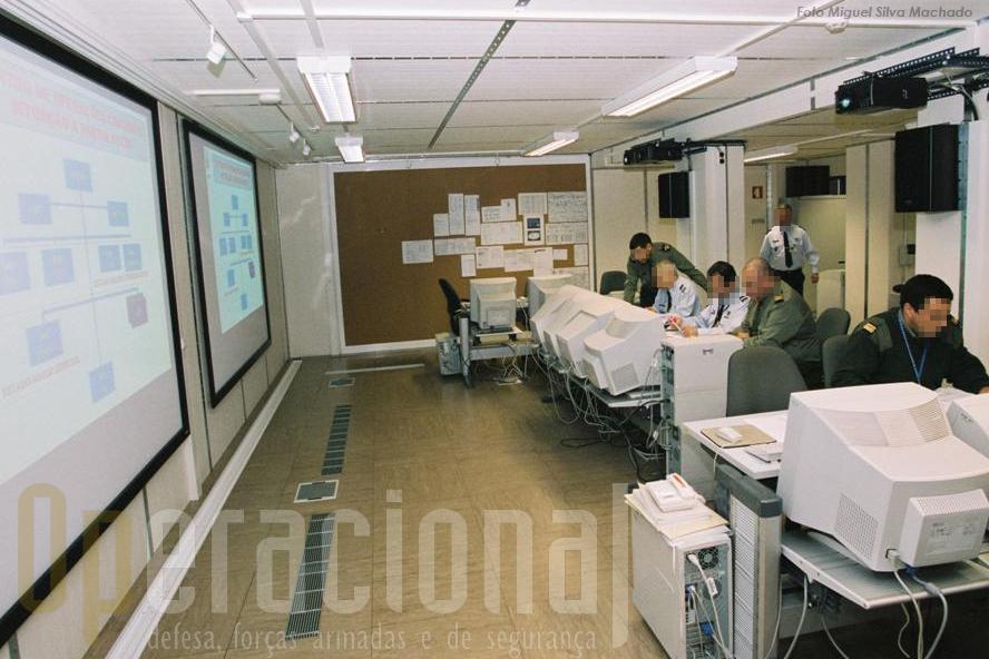 As Forças Armadas têm actividade relevante na área das informações