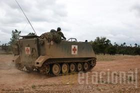 A versão ambulância do M113