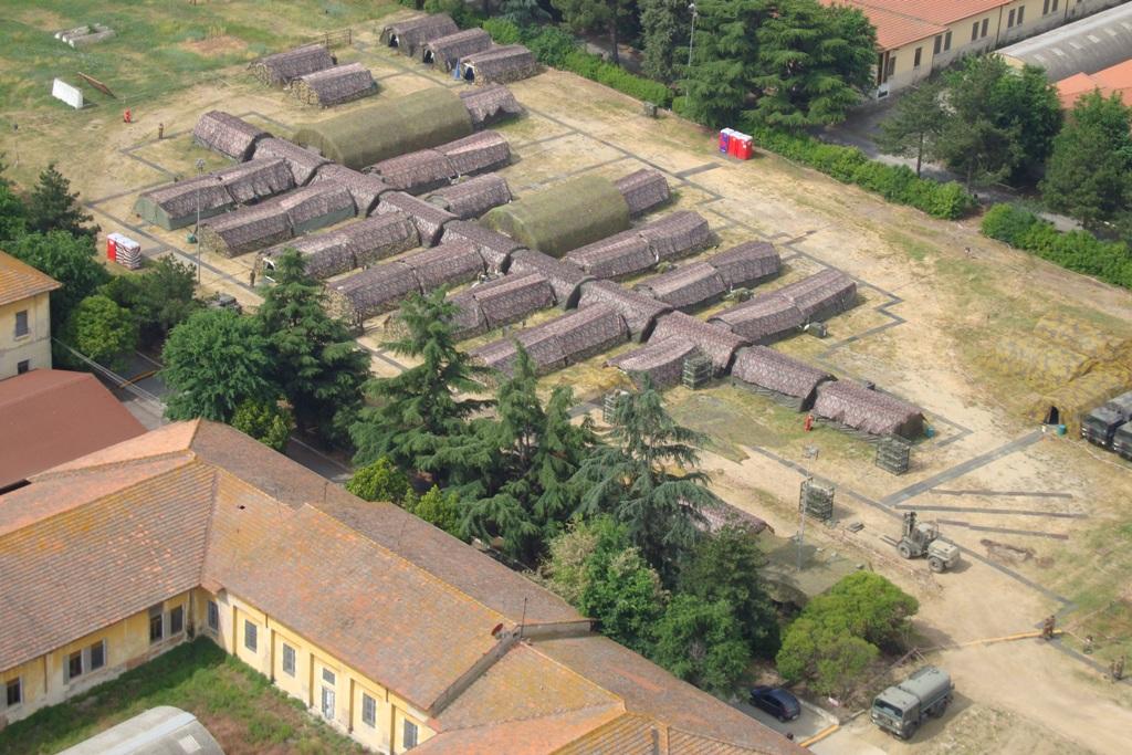 O Posto de Comando da EUROFOR tem capacidade para comandar uma Divisão Ligeira em operações