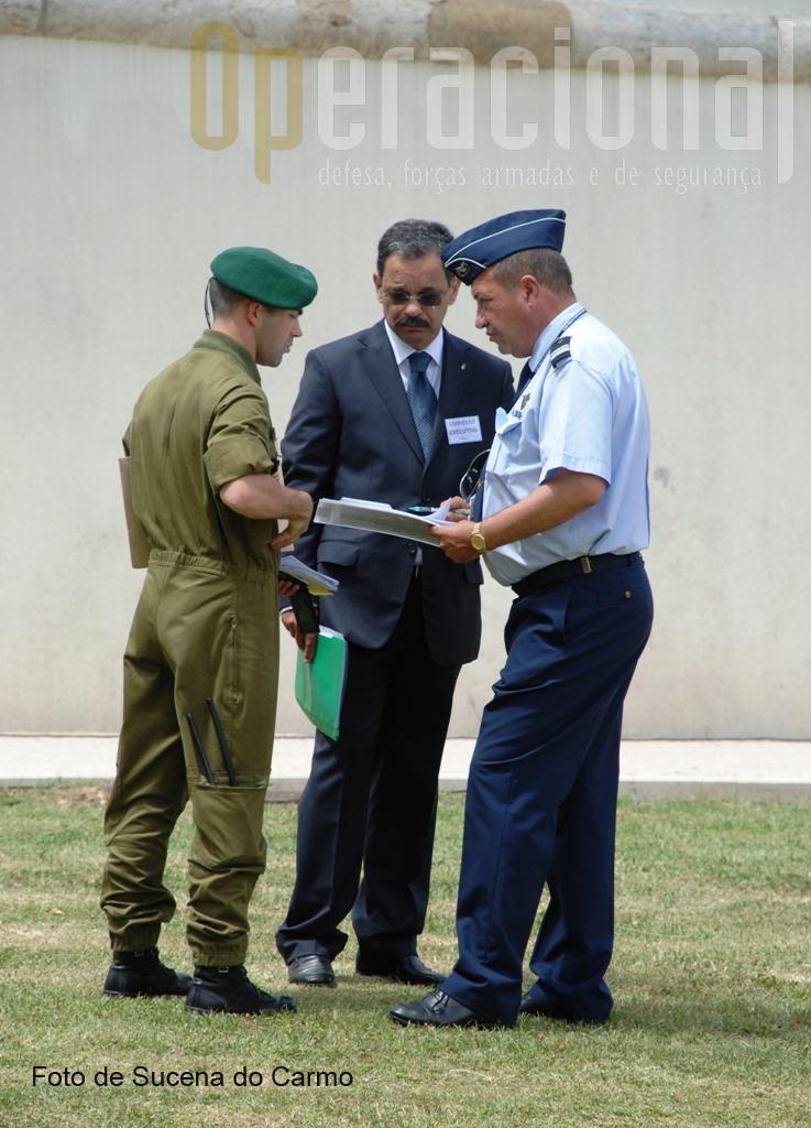 Coordenação e controlo das actividades aeronáuticas que abrilhantaram a cerimónia.