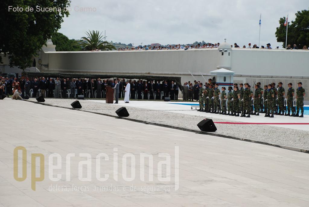A cerimónia inter-religiosa contou com a presença do Imã da Mesquita de Lisboa, Sheikh David Munir.