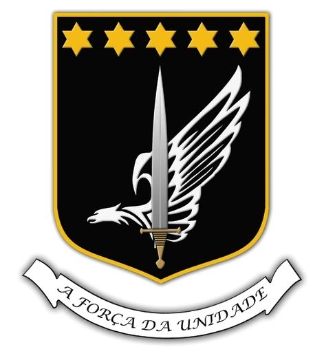 Brasão de Armas da UNIDADE ESPECIAL DE POLÍCIA (UEP).