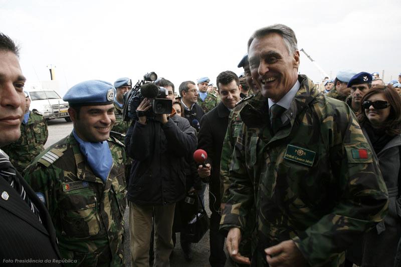 """O """"peso mediático"""" da Presidência da República muito tem feito para divulgar a actividade das Forças Armadas Portuguesas em Portugal e no estrangeiro."""