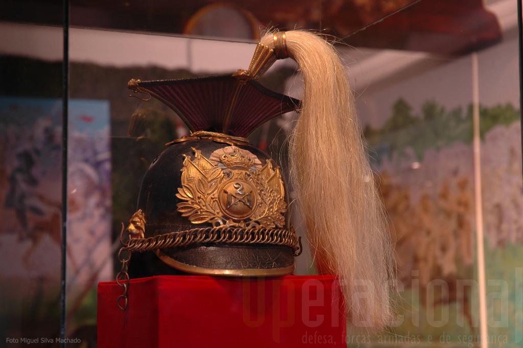 O capacete dos Lanceiros ...