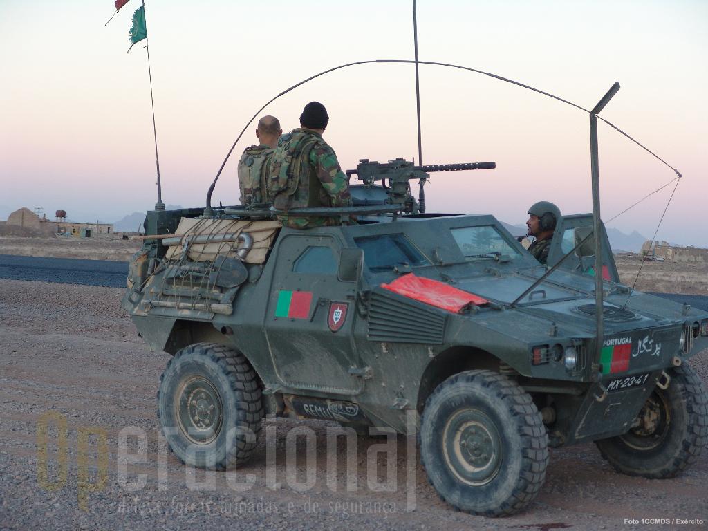 É sabido que o material usado pelas forças nacionais no Afeganistão nem sempre foi o adequado