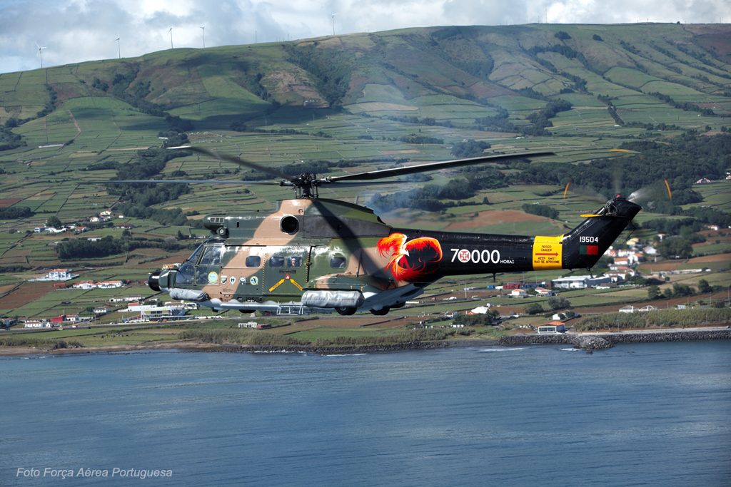 Os Puma os Açores são uma história de sucesso e um marco na aviação em Portugal, devidamente assinalado pela Esq. 752