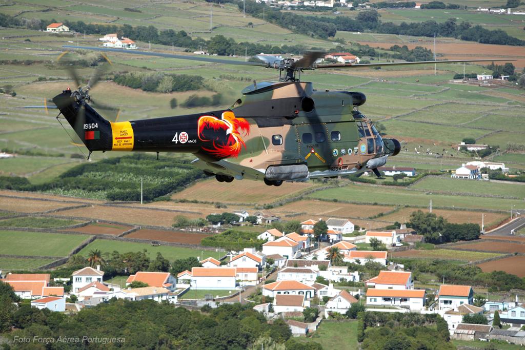 40 anos depois de terem chegado a Portugal, os Puma continuam a prestar serviços indispensáveis ao país na RegiãoAutónoma dos Açores