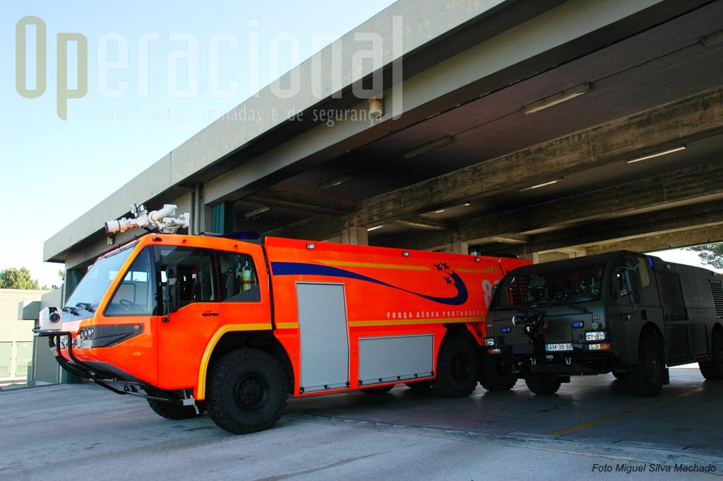 """Os """"bombeiros"""" de Monte Real estão equipados com material bem recente"""
