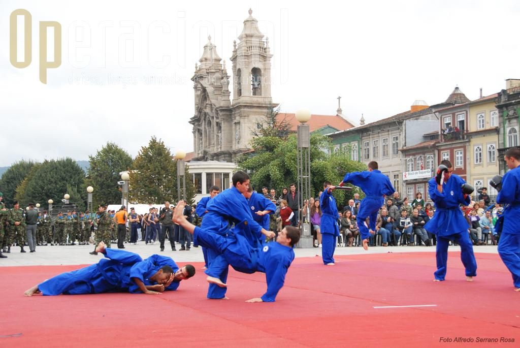 Os Pupilos do Exército têm tradição nas actividades ligadas ao desporto e demostraram-no