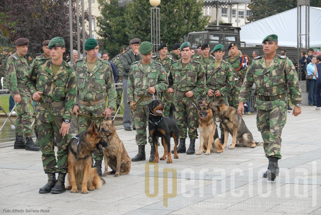 As Tropas Pára-quedistas foram as primeiras a introduzir em Portugal os Cães de Guerra e hoje mantém a sua utilização operacional