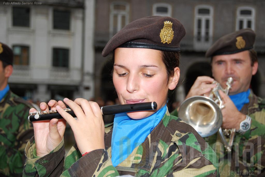A Banda Militar do Porto mantém-se em actividade a actuou desta vez em Braga