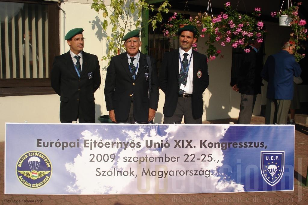 A delegação portuguesa ao Congresso deste ano na Hungria