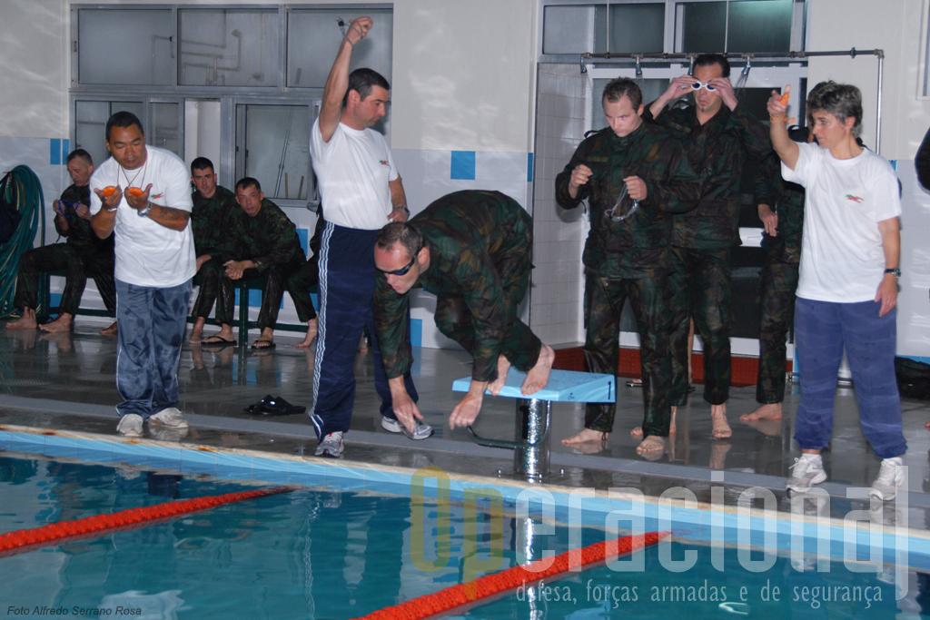 A Escola de Tropas Pára-quedistas envolveu muitos dos seus militares, quadros e praças, na organização do Challenge