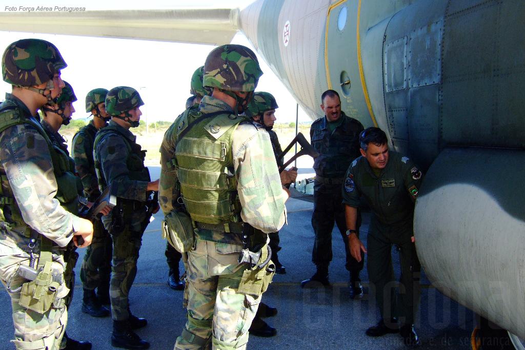 O conhecimento adequado da aeronave a proteger é indispensável ao cumprimento da missão