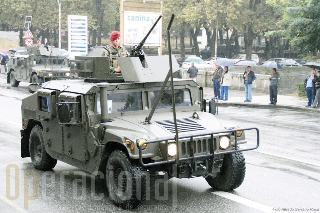 Os HMMWV 1165A1 que o Exército e a Força Aérea adquiriram este ano e que em 2010 deverão rumar ao Afeganistão