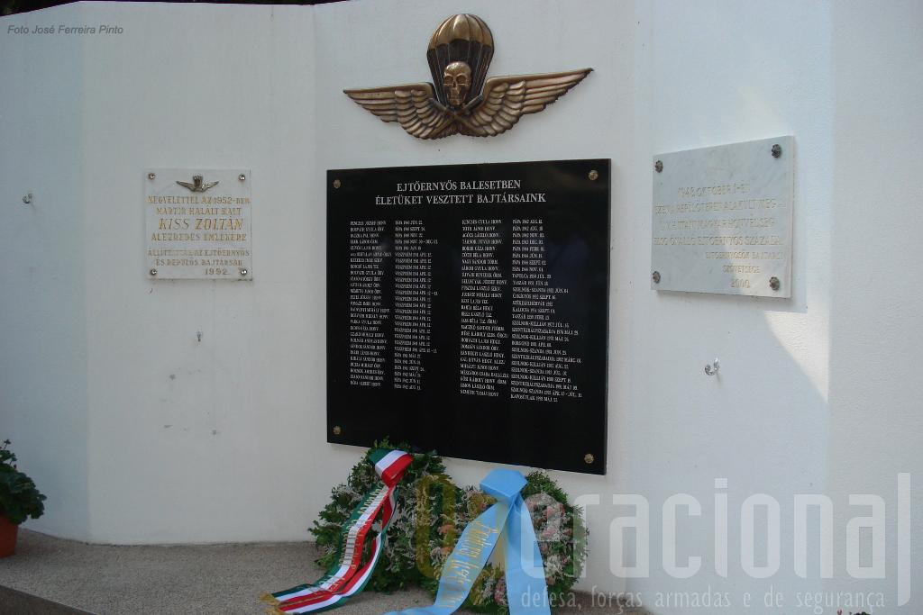 Memorial aos Pára-quedistas Húngaros mortos em combate