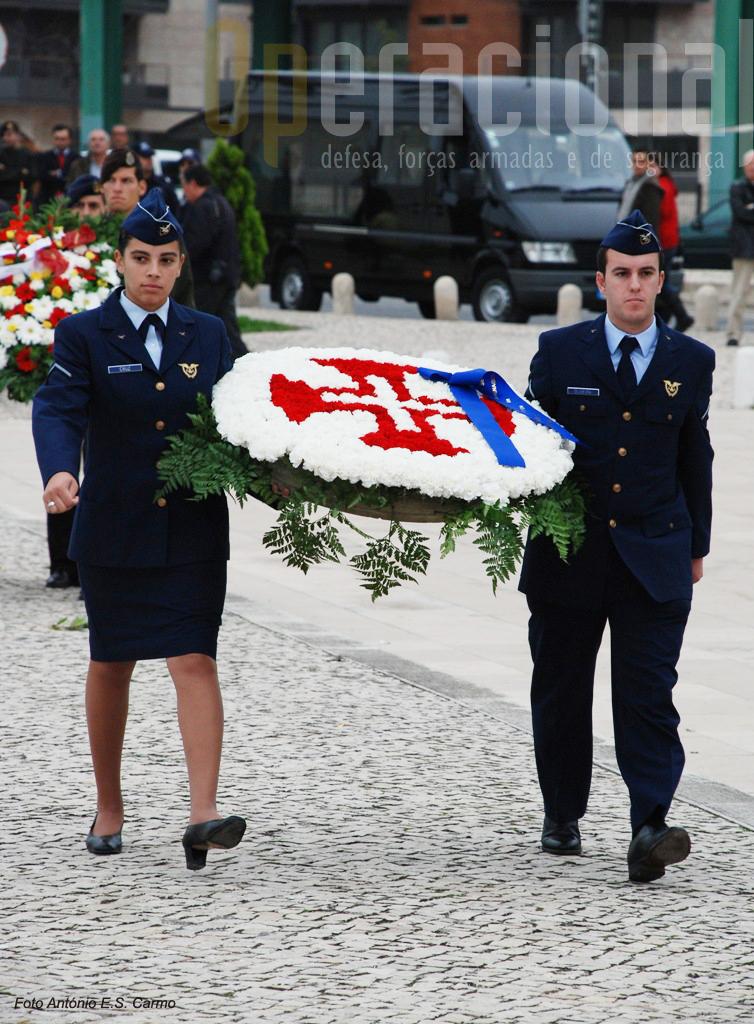 Várias entidades militares, policiais e civis homenagearam os três militares mortos no ex-Ultramar Português.