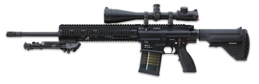 """A HK 417 já """"combate"""" no Afeganistão"""
