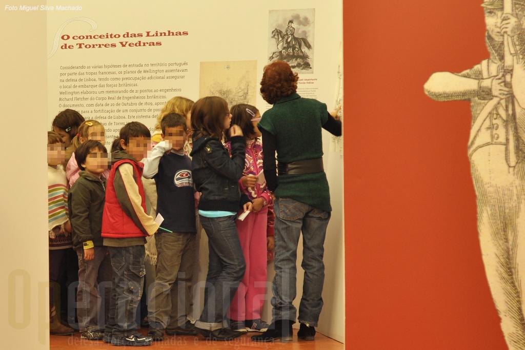 Técnicos do Museu fazem frequentes visitas guiadas para escolas da região.