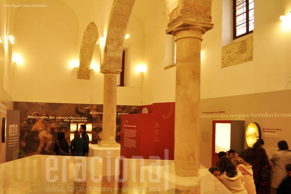 Uma das duas salas dese núcleo onde se fica com uma visão mais abrangente deste período histórico mas onde muitos detalhes relativos à região são apresentados