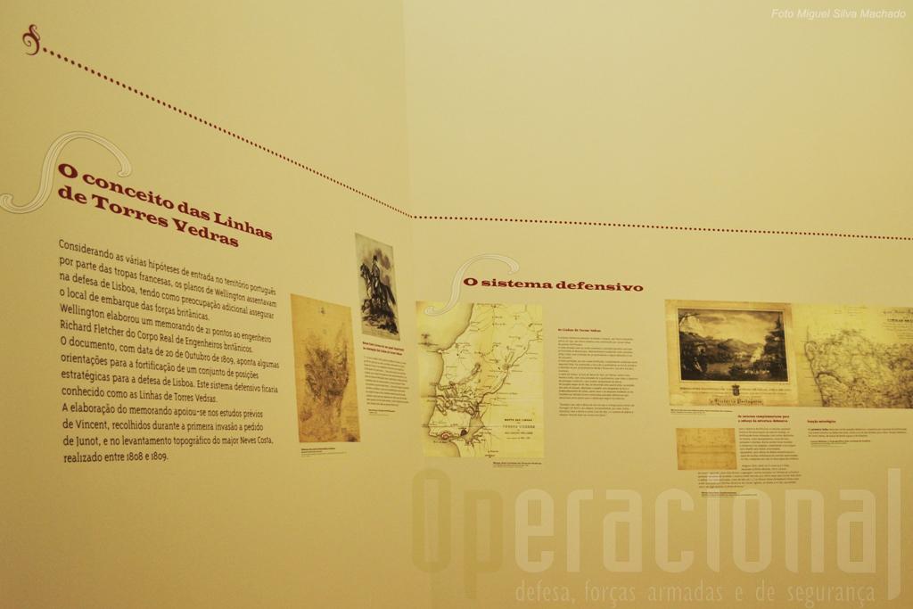 Além de sinteses bem feitas mapas e ilustrações da época ajudam à compreensão da exposição
