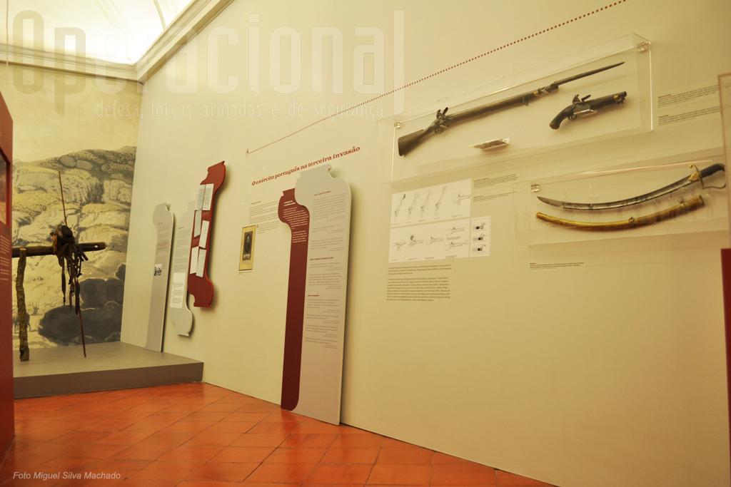Esta exposição apresentam muito pouco armamento da época, apenas o considerado mais significativo.