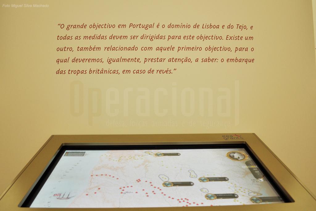 Aqui é possivel visualizar a localização geográfica do conjunto das fortificações das Linhas e ...