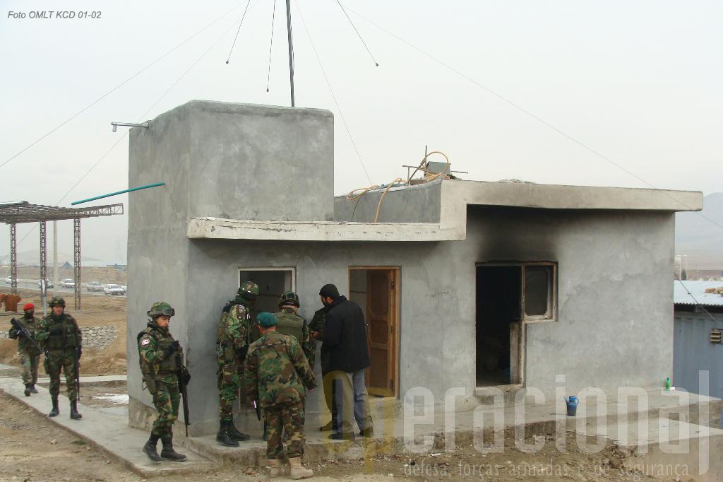 Todas as deslocações no Afeganistão obrigam a elevadas medidas de segurança