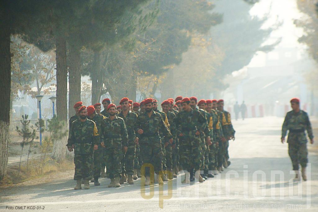 A Kabul Capital Divison dispõe de uma Companhia de Policia Militar