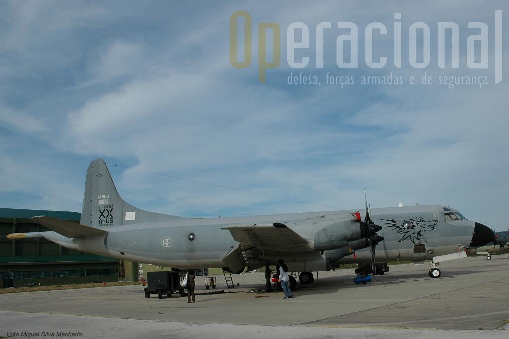 Muitas missões de segurança interna têm a participação activa de vários meios aéreos entre os quais o P3.