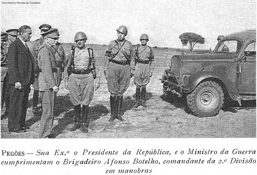 As Forças Armadas eram o garante da segurança, no âmbito interno, quando e se necessário.