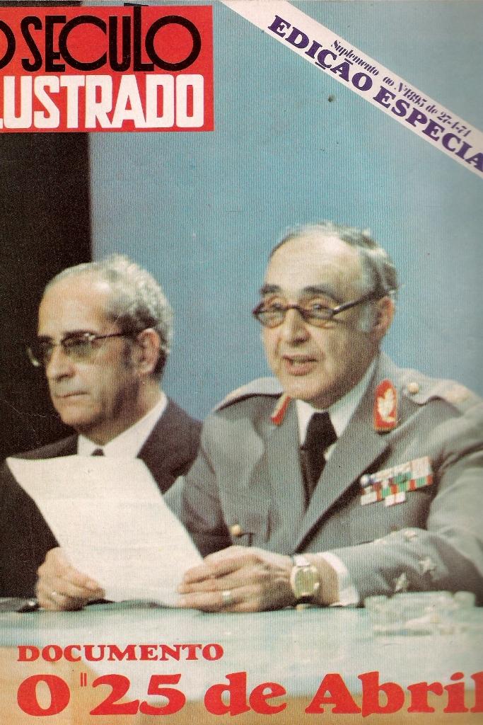 Após o 25 de Abril de 1974 as Forças Armadas eram responsáveis por garantir o regular funcionamento das instituições democráticas.